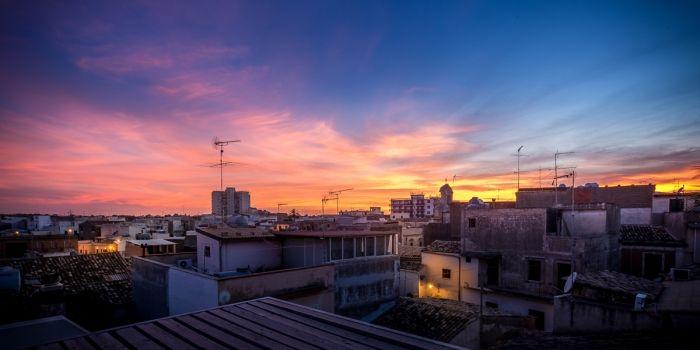 Coucher de soleil sur Corniglia
