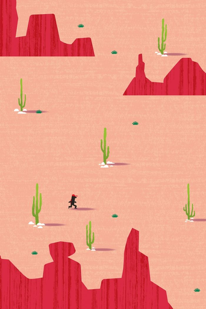 SEUL dans le désert