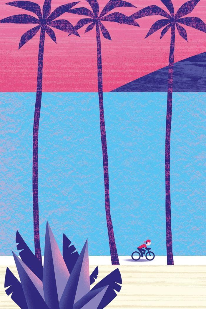 Vélo en Californie