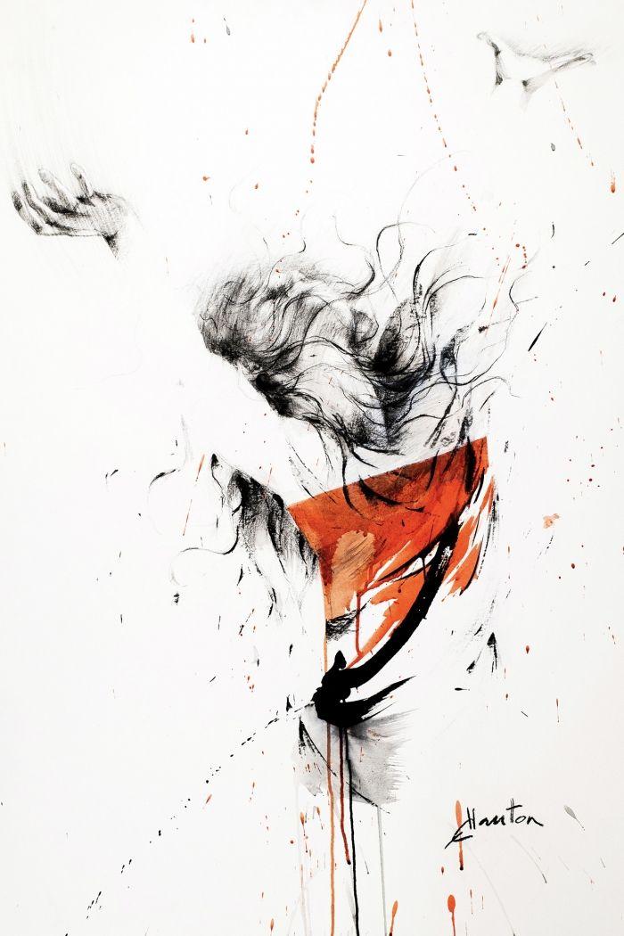 Danse, rouge
