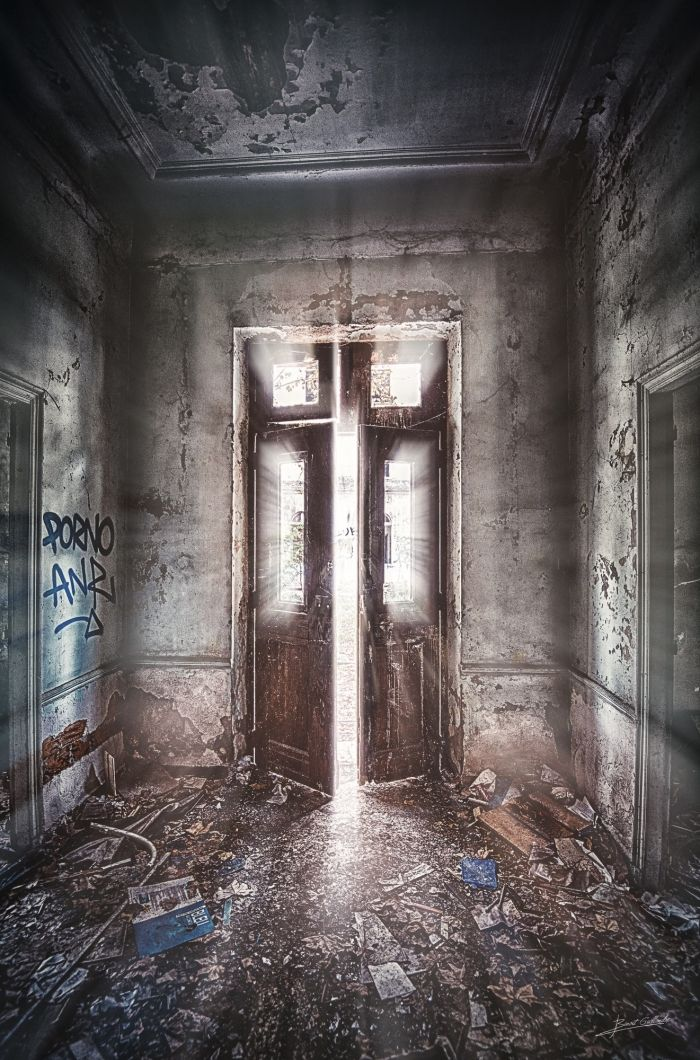 Porte lumineuse