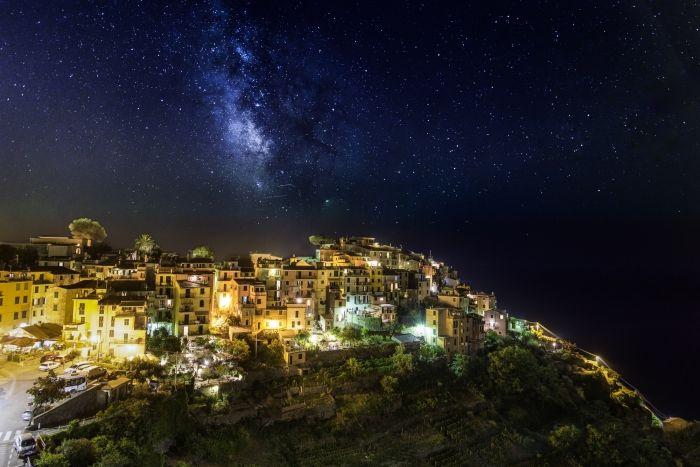 Nuit sur Corniglia