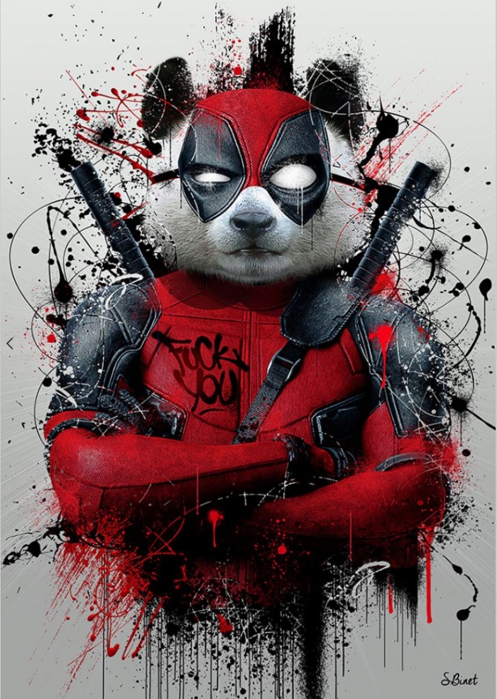 Deadpool Panda