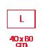classique 40x60 L